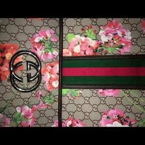 Gucci Backpack Floral Print